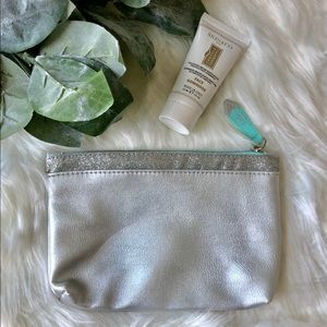 3 for $10 NWOT Ipsy Makeup Bag with Silver Glitter